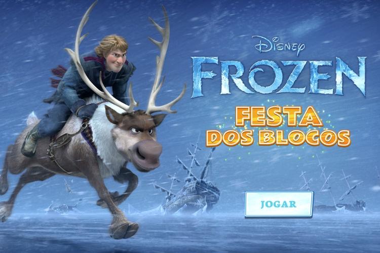 Frozen – Festa dos Blocos