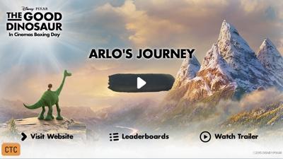 O bom dinossauro: Jornada de Arlo