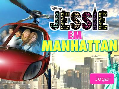 Jogos da disney: Jessie em Manhattan