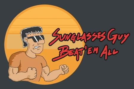 "SunglassesGuy Beat""em All"