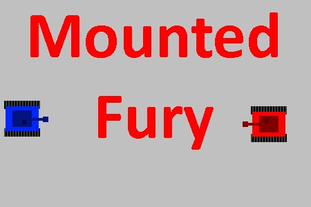 Mounted Fury