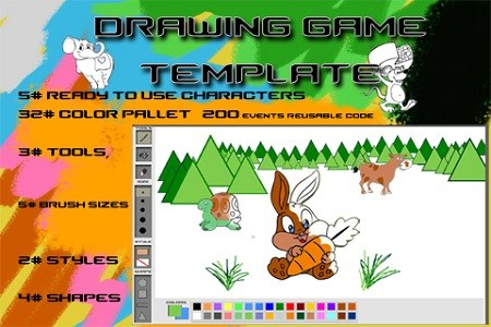 DRAWING GAME TEMPLATE