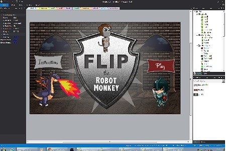 Flip the Robot Monkey Lemke