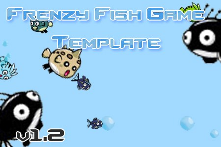 Frenzy Fish Game Template Scirra Store Demo