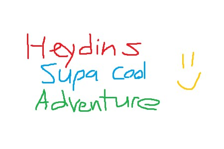 Heydins supa cool adventure to get friends