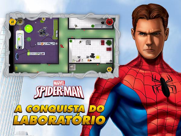 Homem-aranha: A conquista do Laboratório