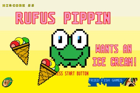 Rufus Pippin wants an Ice Cream