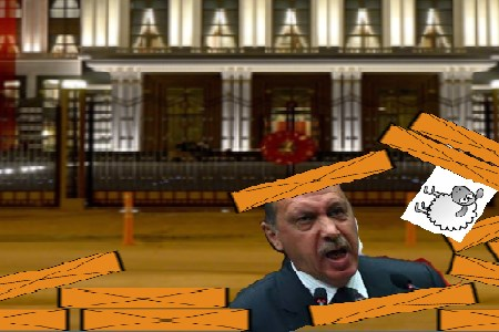 Angry Erdogan