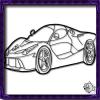 Sport Car Coloring