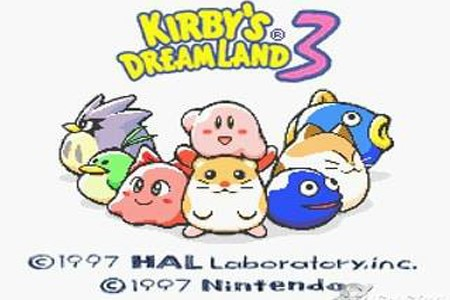"kirby""s dreamland 3"