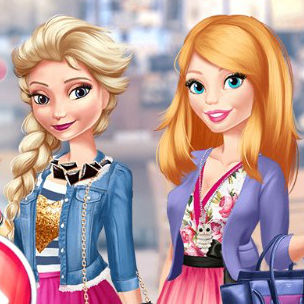 Barbie & Elsa Blind Date