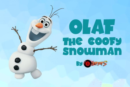 Olaf – the Goofy Snowman