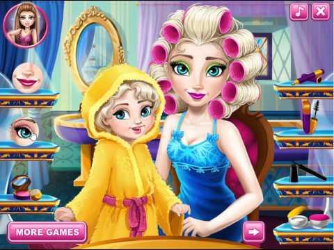 Ajude a princesa Elsa a se a maquiar