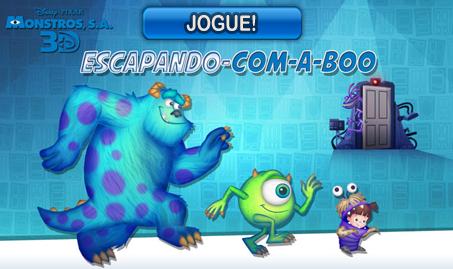 Monstros S.A. – Escapando com a Boo