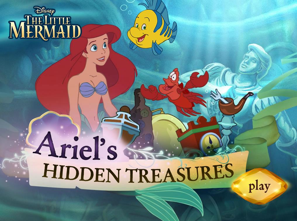 Pequena sereia: Tesouros escondidos de Ariel
