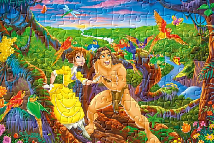Quebra cabeça do Tarzan