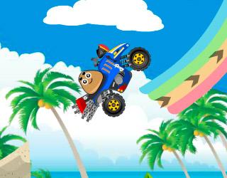 Pou Beach Ride