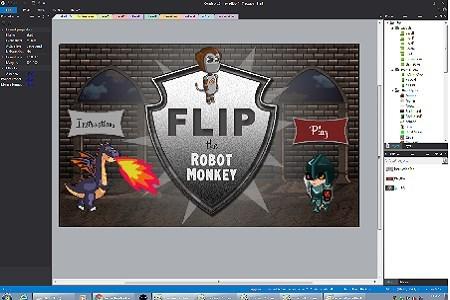 Flip the Robot Monkey Lemke