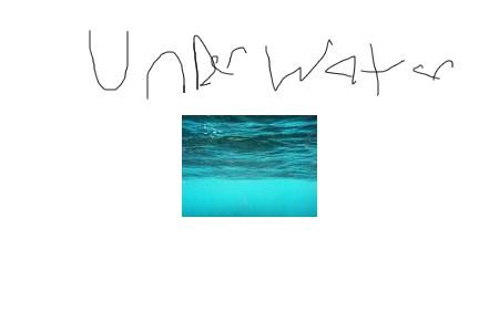 underwater run