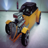 Yellow Road Racer Baggy
