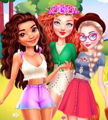 Princesses Summer Glamping Trip