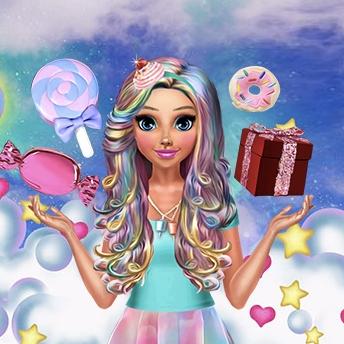 Katie's Candy Look