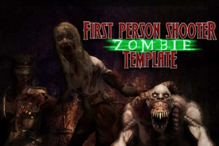3D FPS Zombie Template