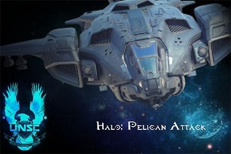 Halo Pelican Attack