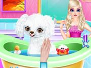 Princess Elsa New Poodle Friend